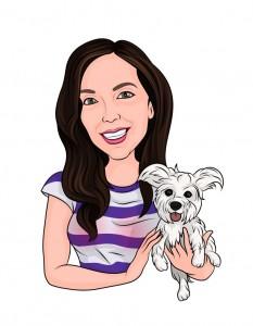 KAF Town Founder Elisa Jordana - Illustration by Gaia Paia