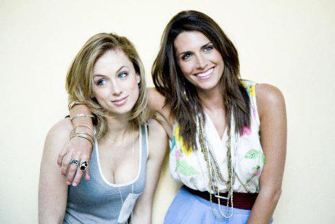 Elisa and Comedian Iliza Shlesinger