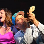 Benjy Blows the Shofar as Elisa Belts One Out