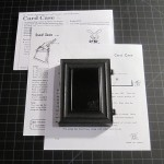 SOLD T-40 CARD CASE – 1st edition prop, no box, comes with three repro versions of the Tenyo instructions for this trick through the years. $20 SOLD