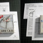 T-40 CARD CASE – 1st edition prop, older box with type on the back not the cartoon illustrations, SHRINK WRAPPED (very rare), great for the collector. Comes with three repro versions of the Tenyo instructions for this trick through the years. $75