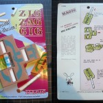 SOLD T-110 ZIG ZAG CIG — Like New in Neatly Opened Package with Original Instructions. If you never had the Tenyo version get this the quality is much better than the knockoffs. $20 SOLD