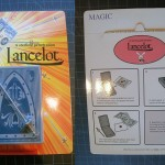 SOLD T-142 LANCELOT – New in Sealed English Package. The perforation in the back is opened because there were Danish instructions inserted in there. $70 SOLD