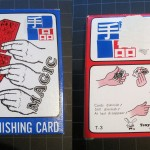 SOLD T-003 DIMINISHING CARDS — New in Box with some surface area missing. Original Instructions. $10 SOLD
