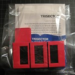 TRADE T-179 TRISECTOR – Like New with Cardboard Packaging Card but No Plastic Box, Original Instructions. $30 TRADE