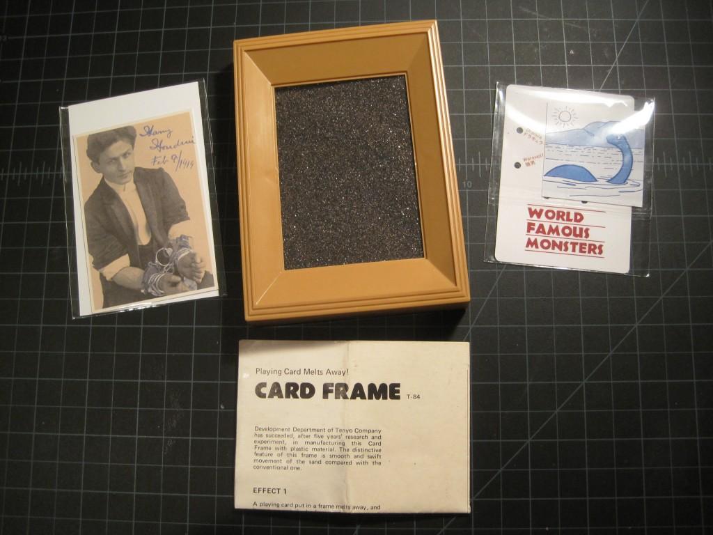 PRIZE T-084 CARD FRAME W. EXTRAS $30 PRIZE | Tenyo Magic Website