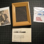 PRIZE T-084 CARD FRAME – Like New, No Packaging, Original Instructions. Comes with Houdini Card and Repro Monster Cards. $30 PRIZE