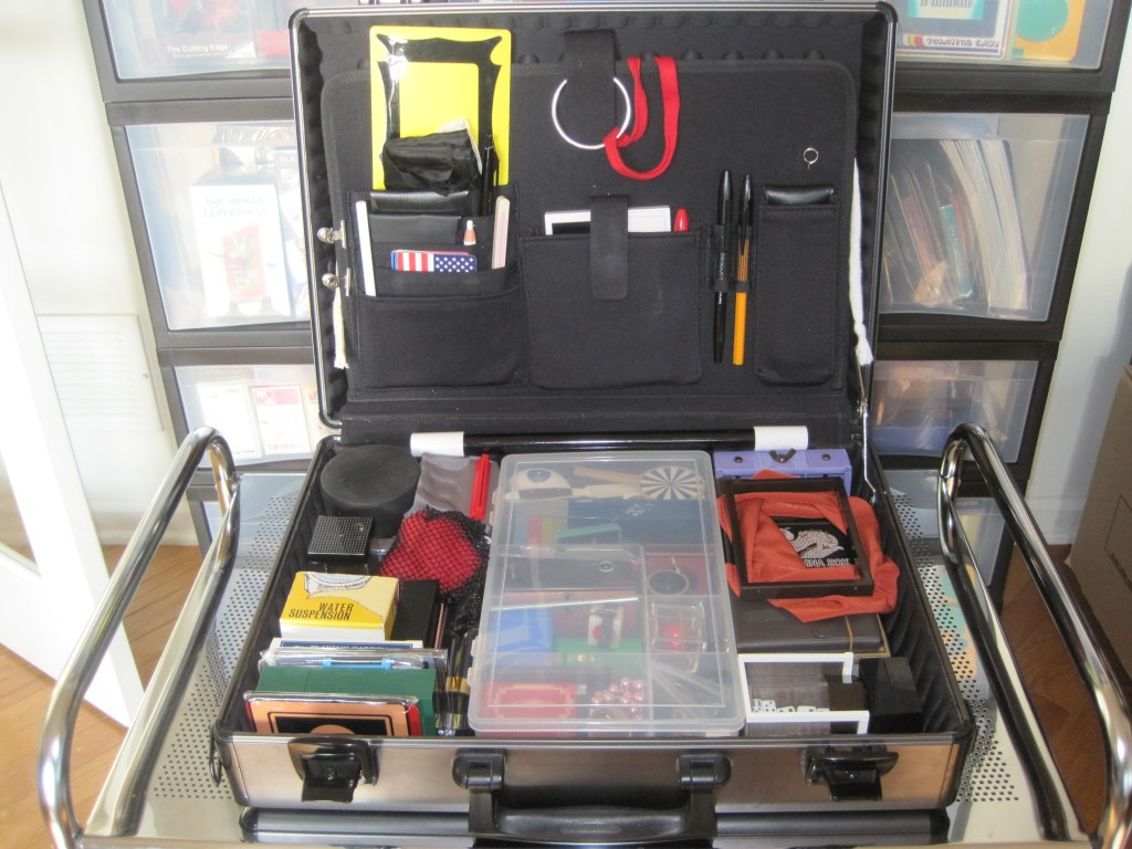 My Tenyo Magic Case which Contains 70 Different Tenyo
