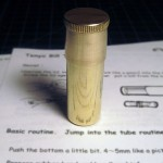 Tenyo BRASS BILLTUBE — Very Nice, Like New, Translated Instructions. $60