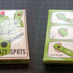 T-039 CRAZY SPOTS — Like new in OK box (some surface loss) with repro instructions. $7