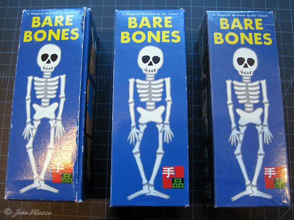 Bare Bones: Used, Like New, Shrink Wrapped