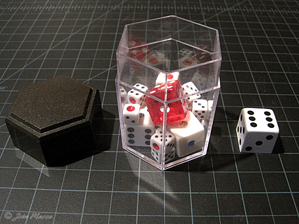 Dice Storage in Crash Dice