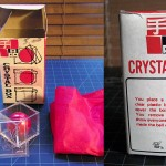 SOLD T-38 CRYSTAL BOX — Like New in vintage box with original instructions. $45 SOLD