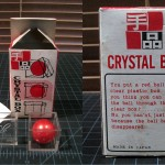SOLD T-38 CRYSTAL BOX — Like new in oldest version of box with genuine English instructions. This box is the first variation that was released so this is very old and very nice for the serious collector. No red silk, I am pretty sure the first version came with no silk. $50 SOLD