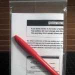 SOLD T-240 SHRINKING PEN —New without package and repro English instructions. $15 SOLD