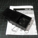 SOLD T-246 TRAP BOX — Like Like New without package and repro English instructions. $15 SOLD