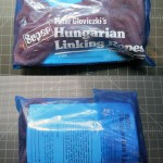 SOLD T-101 HUNGARIAN LINKING ROPES — Like New or New. Not sure if these came taped closed or heat sealed. Original Instructions with Original Blue Plastic Bag. $70 SOLD