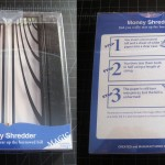 SOLD T-189 MONEY SHREDDER — T-189 Money Shredder Brand New in Very Nice Plastic Box that a collector would appreciate. $40 SOLD