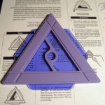 SOLD T-221 MYSTERY TRIANGLE — Used Condition, Repro Instructions. $10 SOLD