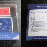 SOLD T-184 POP-UP CARD – Brand New in Very Nice Plastic Box. $25 SOLD