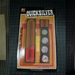 T-113 QUICK SILVER – Brand New from a magic shop's storage room case.  The packaging glue has failed so it opens like a book just like many of the Tenyo from the same time period. $60