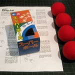 SOLD T-080 Sponge Balls — Like New Tenyo Sponge Balls (the softest in the world, no BS) in opened Japanese box with vintage English instructions and original Japanese instructions. $15 SOLD