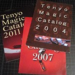 TENYO CATALOGS — 2004, 2007, 2011 Tenyo English Catalogs in Good Condition. $15