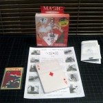 SOLD T-013 KINGS AND ACES — New Japanese Version with larger cards and additional cards for other routines as well. Comes with Original Japanese Instructions and Repro Vintage K&A instructions. The Vintage K&A on the left is just for card size comparison and not included. $15 SOLD