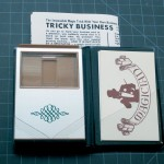 SOLD T-130 TRICKY BUSINESS – Like New, No Package, Full Size Repro Instructions. $80 SOLD