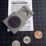SOLD T-134 VAULT VISION – Japanese Version that works with Japanese Coins which are Included. Repro English Instructions, No Package. $20 SOLD