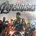 Close-up of Marvel Avengers puzzle