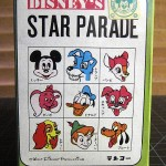 The Tenyo Stylized Kanji Logo on Disney Star Parade  Vintage Package.